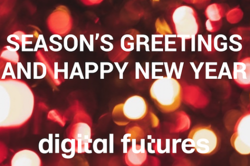 Season's Greetings from all of us to all of you!